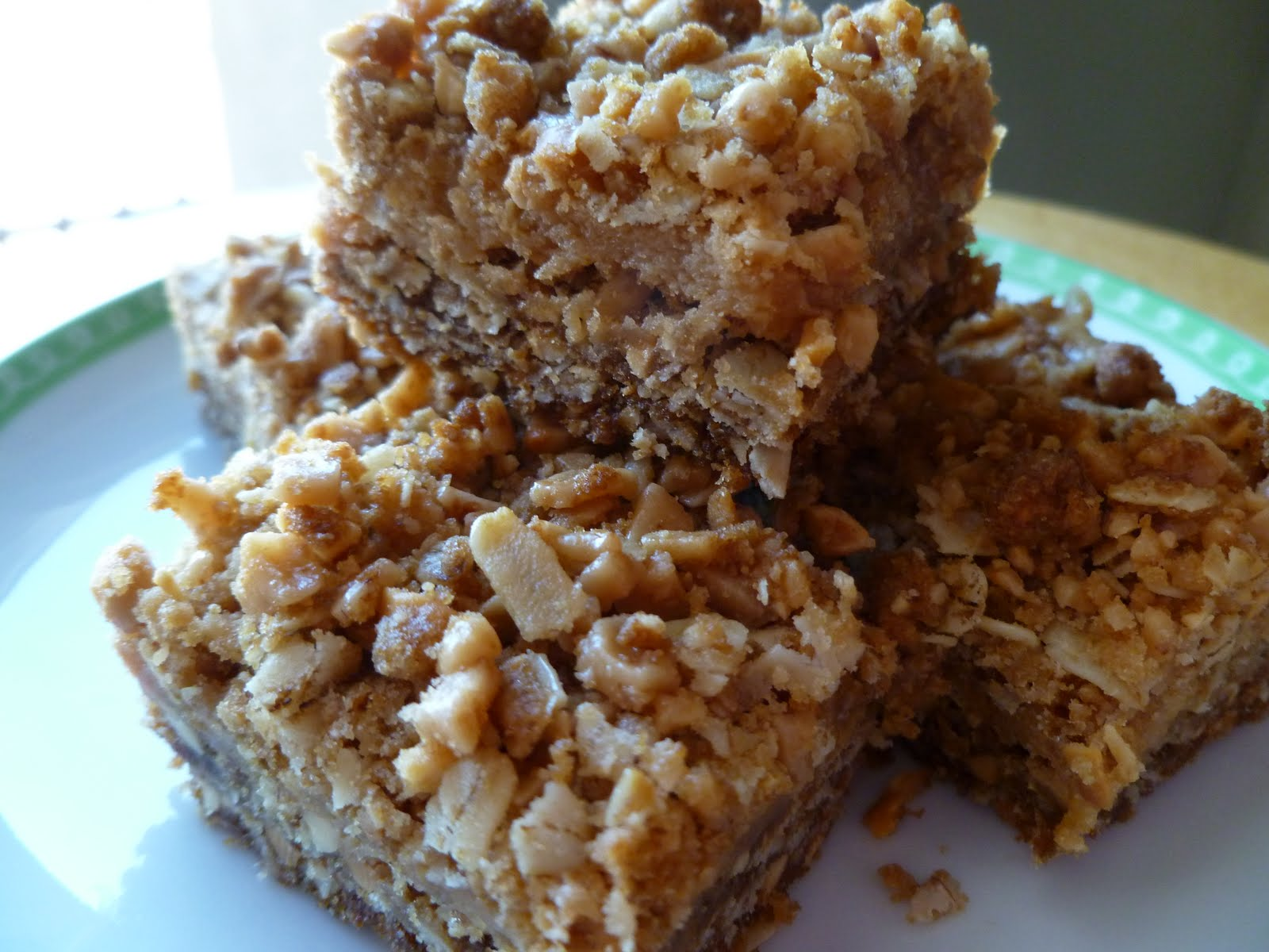 The Pastry Chef's Baking: Crunchy Peanut Brickle Bars