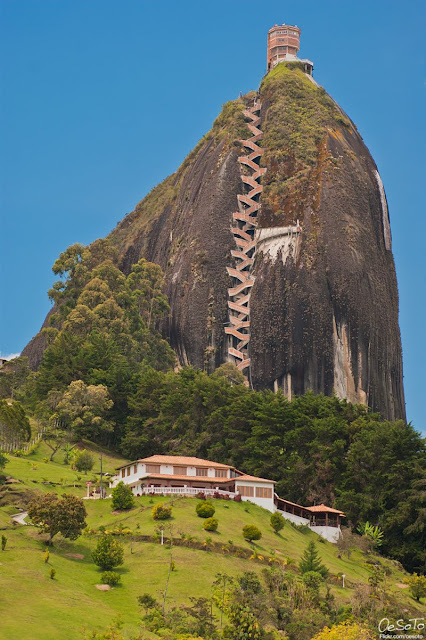 The Rock of Guatape - Colombia