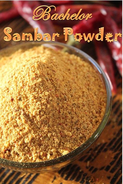 YUMMY TUMMYBachelor Sambar Powder Recipe / Instant Sambar Powder