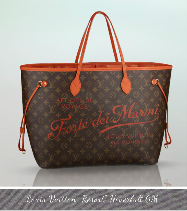 Louis Vuitton Resort Neverfull GM Forte dei Marmi