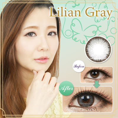 Lilian Gray Contact Lenses at ohmylens.com