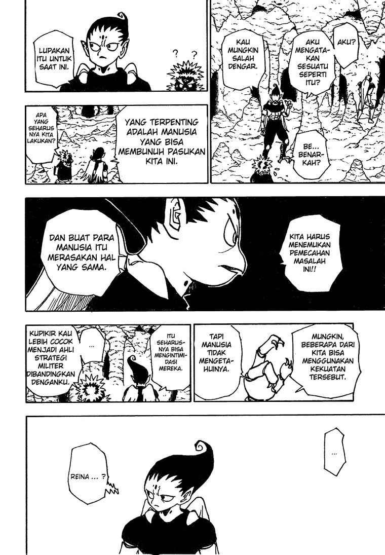 Dilarang COPAS - situs resmi www.mangacanblog.com - Komik hunter x hunter 189 - penyusupan 190 Indonesia hunter x hunter 189 - penyusupan Terbaru 13|Baca Manga Komik Indonesia|Mangacan