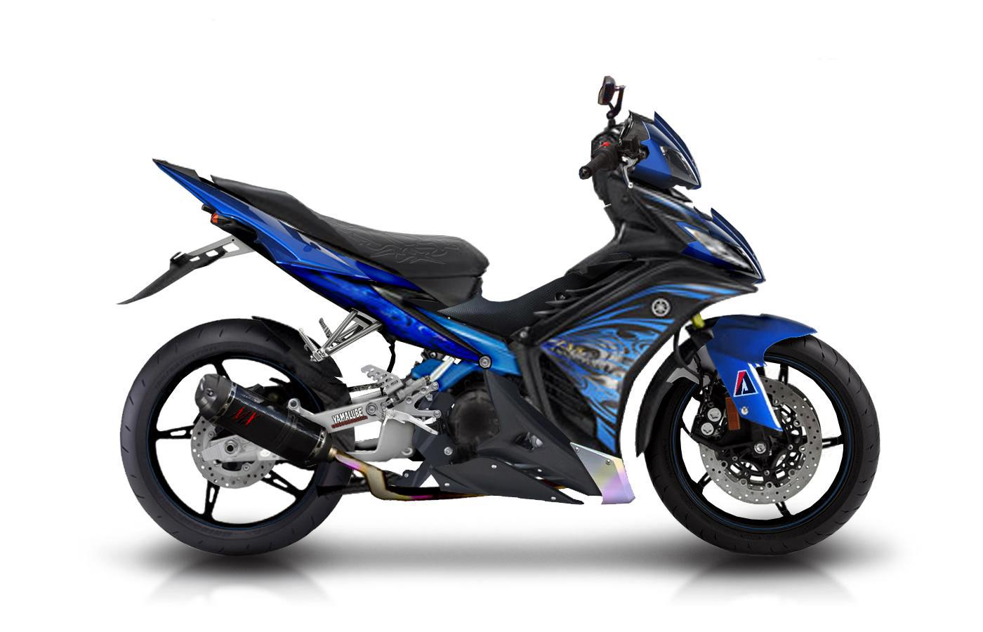 Modif NJMX ( New Jupiter MX ) , foto modifikasi motor new jupiter mx  title=