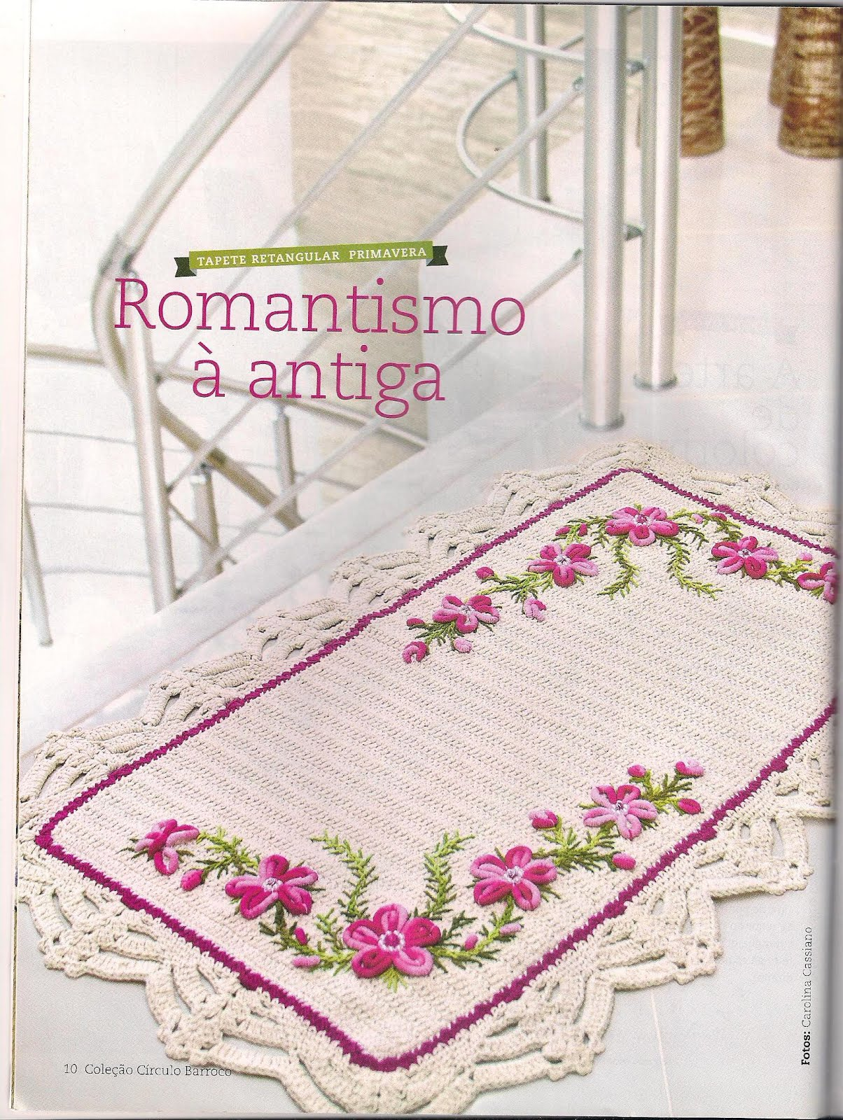 Tapete   Flores Em Rococo