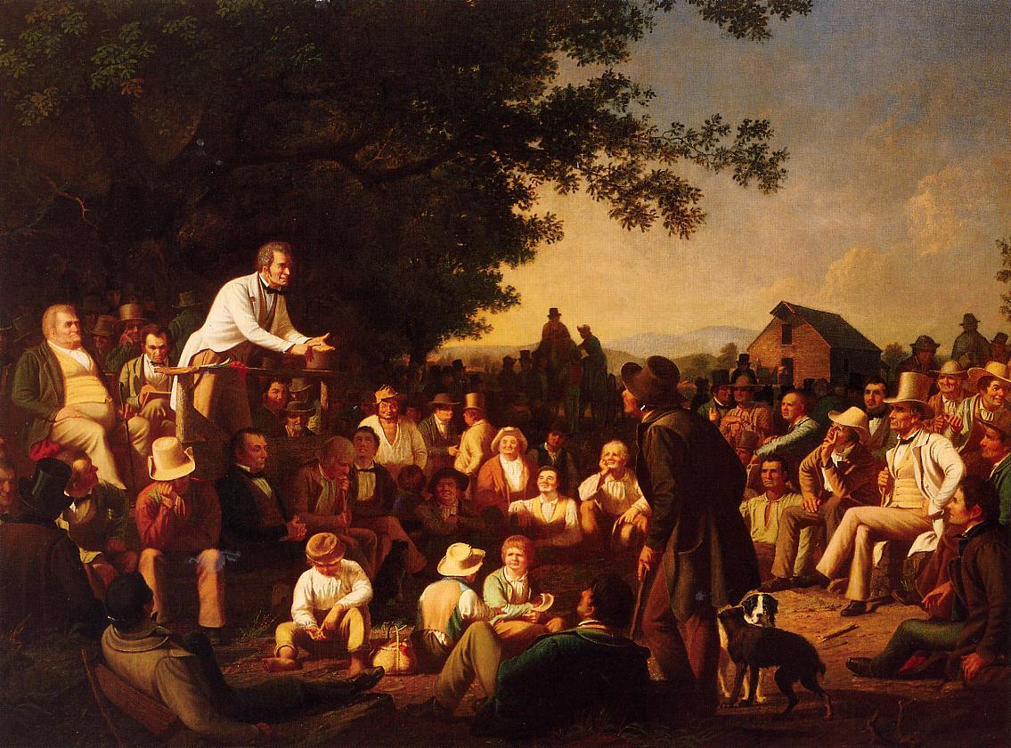 19th century american paintings george caleb bingham