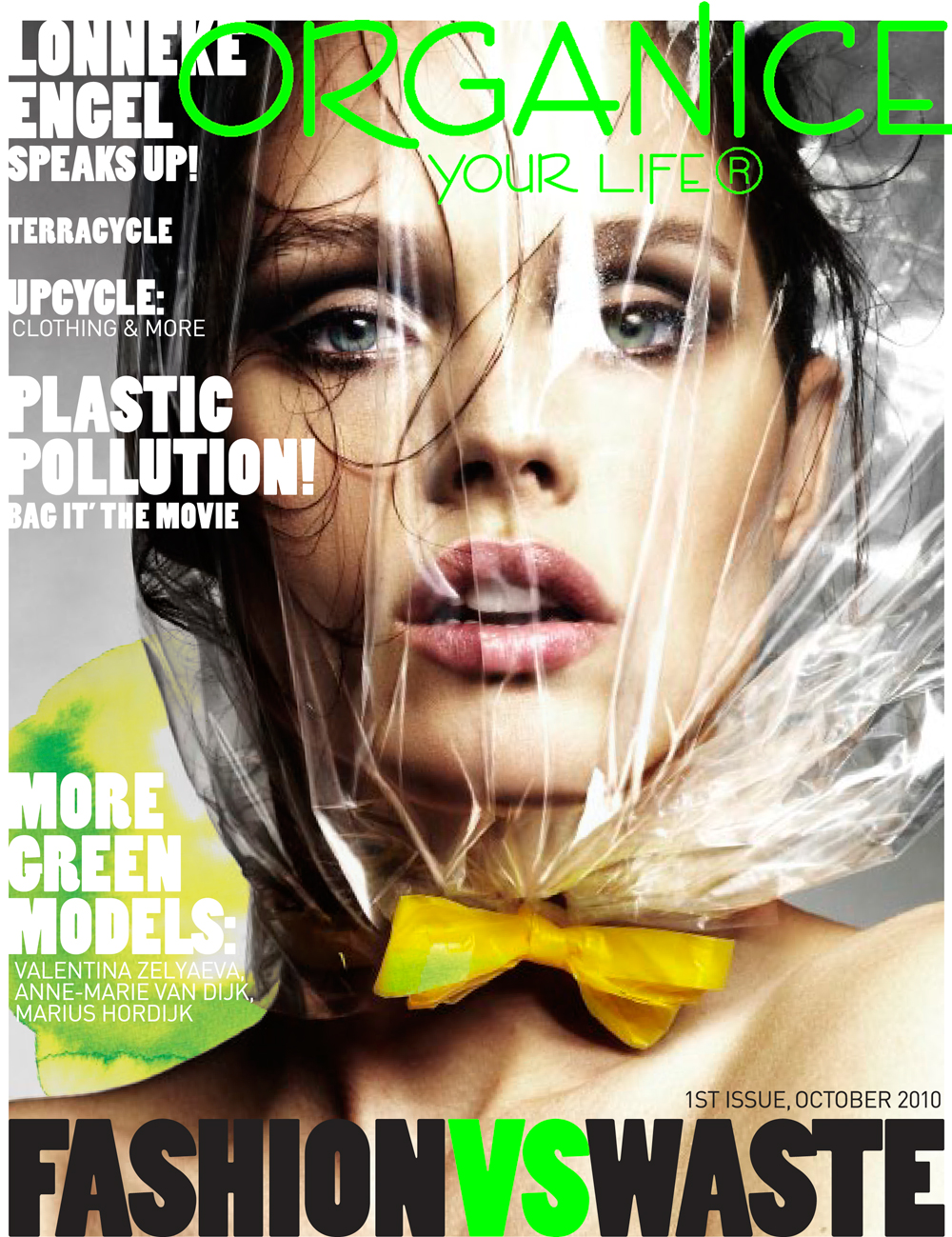 Organice Your Life October 2010 (photography: Alique) / exclusive interview with Lonneke Engel / fashion models beauty secrets / via fashioned by love british fashion blog