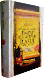 Perjalan Hidup 4 Khalifah Rasul Yang Agung (pemesanan buku sms 087887778027)