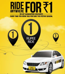 Taxiforsure : Get upto 30% off on your Ride on TaxiForSure Best Offers- Buy To Earn