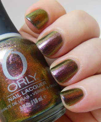 Orly Space Cadet swatch