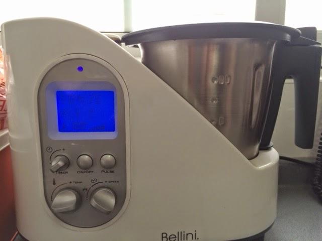 Amigas en la cocina chupe de pollo con el robot de cocina bellini - Cocinar con robot ...