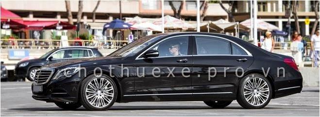 Cho thuê xe Mercedes S500L 2014 bản xe VIP mới nhất hiện nay