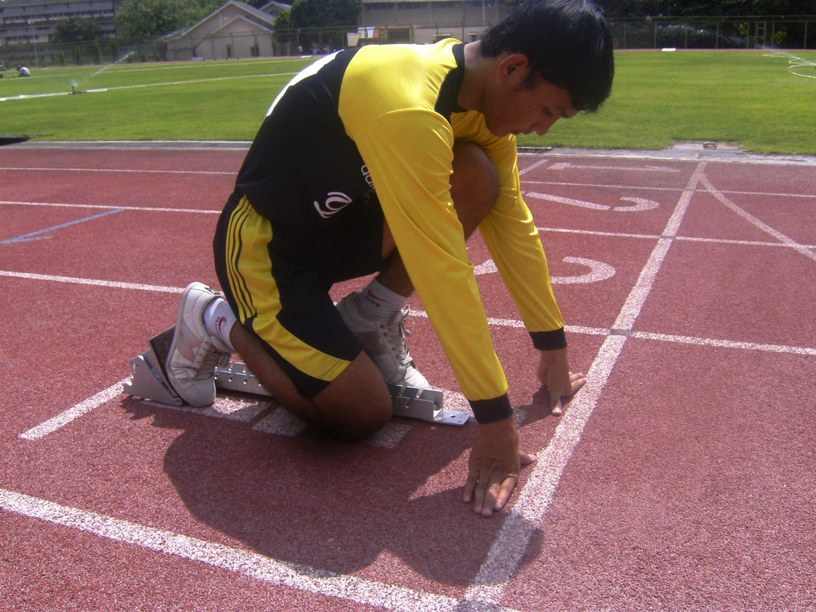 Sikap Start Aba-Aba pada Lari Sprint
