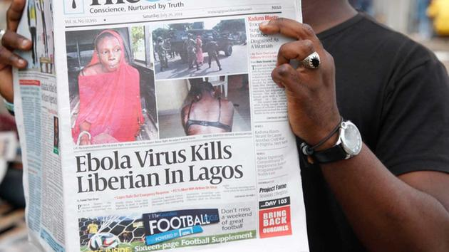 ebola nigeria,Ebola Fears again  as 15 people quarantined in Calabar Nigeria following death of patient.