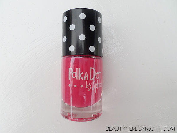 Bag of Love July 2013: Polka Dot by Splassh Nail Polish in 22