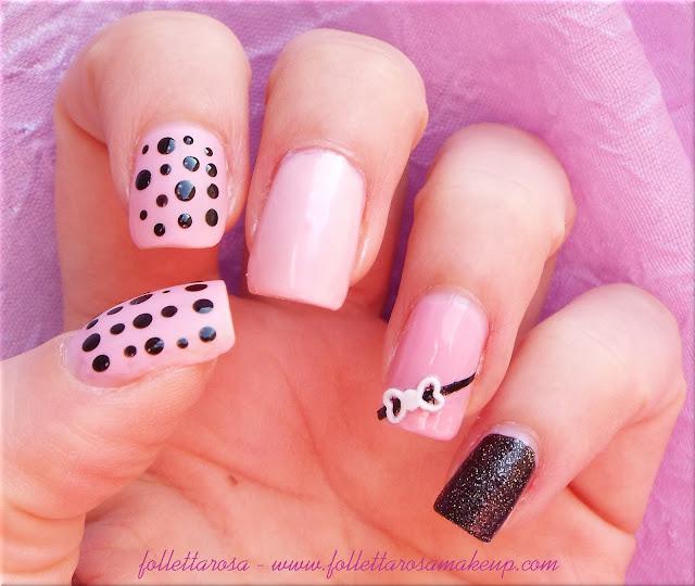 nail art facile ottobre