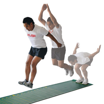 Standing long jump olympic sport