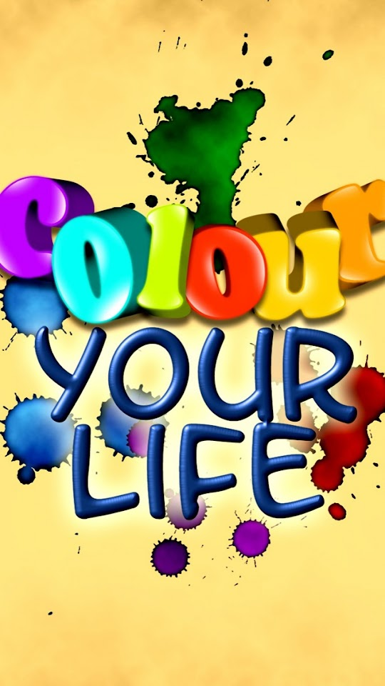 Colour Your Life   Galaxy Note HD Wallpaper