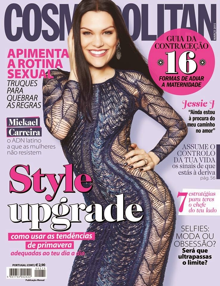 Singer, Songwriter Jessie J - Cosmopolitan Portugal, March 2015 1