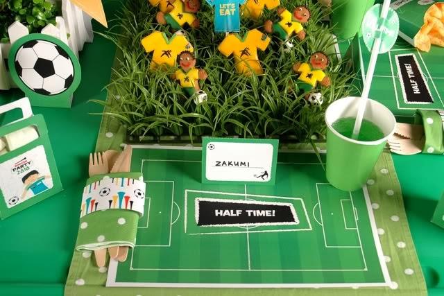 Soccer Party Centerpiece Ideas