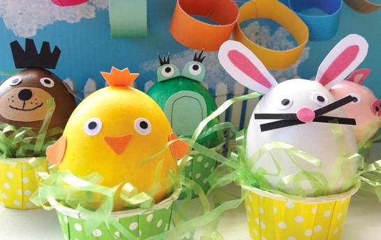 Huevos de pascua decorados vol 2 22 fotos imagenes y Creative easter egg decorating ideas