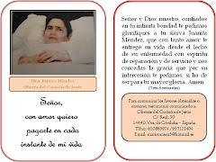 Hna Juanita Méndez OCJ