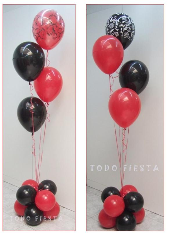 Decoraci n con globos de todo fiesta decoraciones para for Decoracion simple con globos