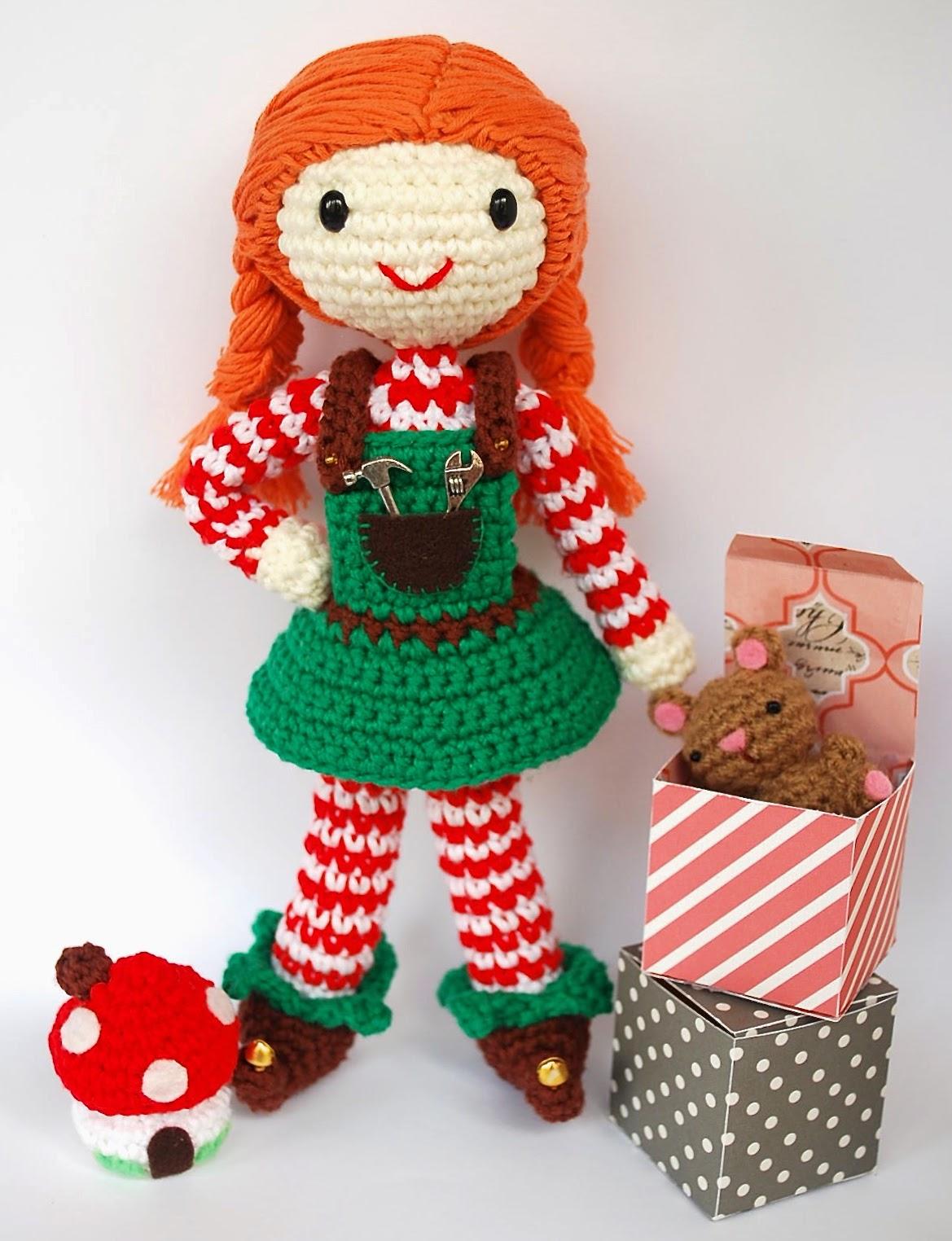 Crafteando, que es gerundio: Patron: Elfa juguetera ...