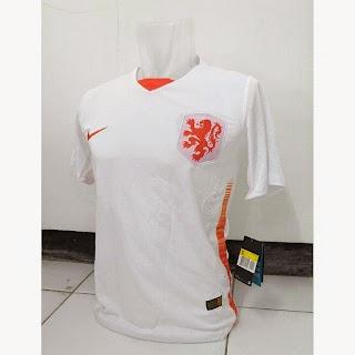 gambar photo baju bola Jersey Timnas Belanda away terbaru Piala eropa 2015
