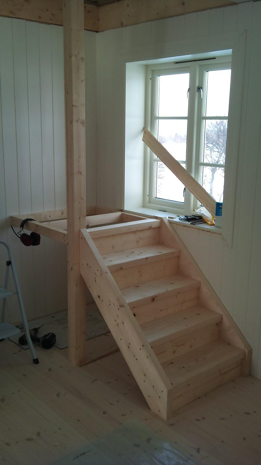 inntrinn opptrinn trapp