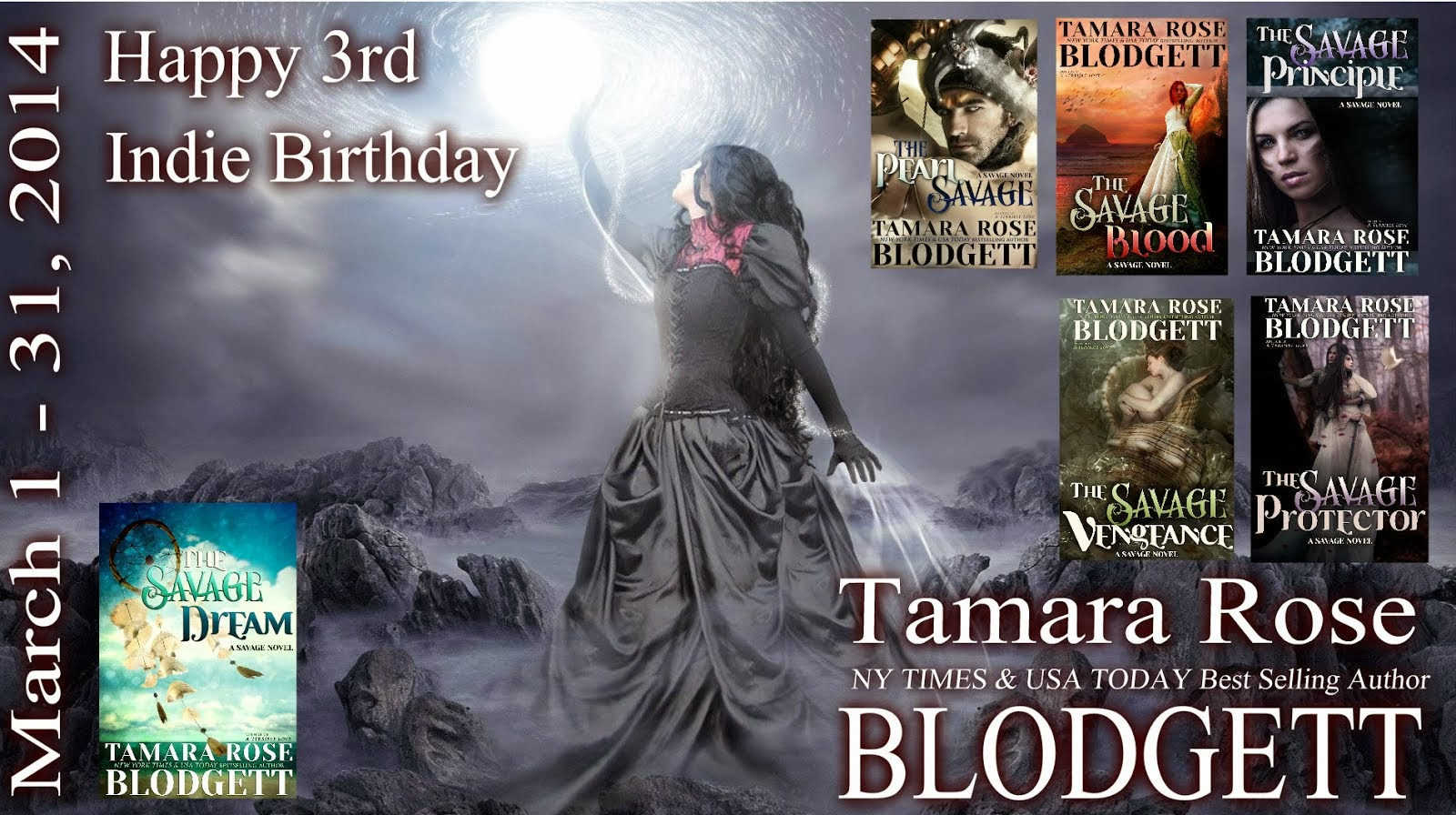 Tamara Rose Blodgett's 3rd Indie Birthday Celebration