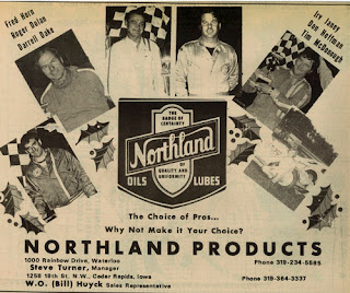 Midwest racing archives december 2011 for Northland motor oils lubricants