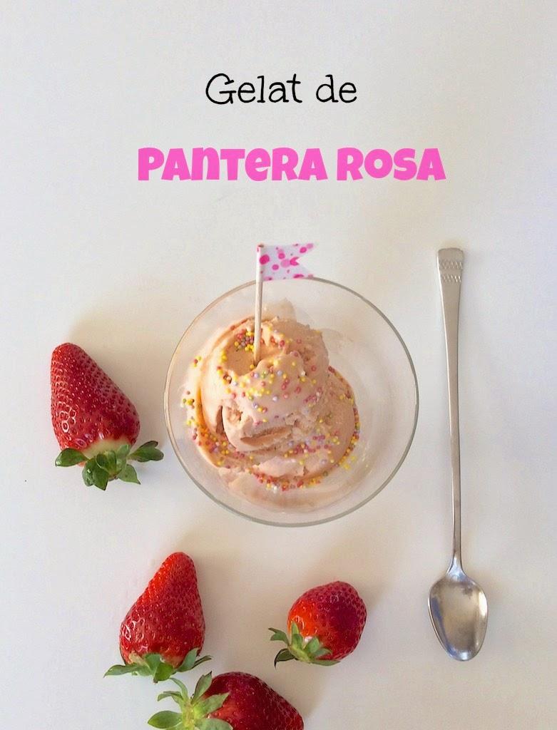 helado de pantera rosa