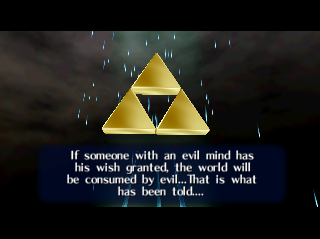 Ocarina of Time Triforce