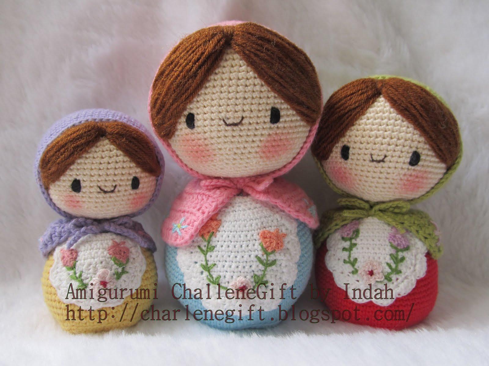 Amigurumi Boneka : Amigurumi charlene gift n craft matryoshka