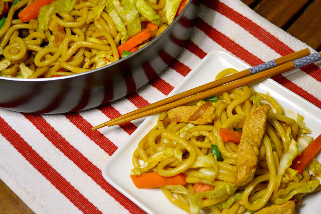 yaki udon noodles recipe