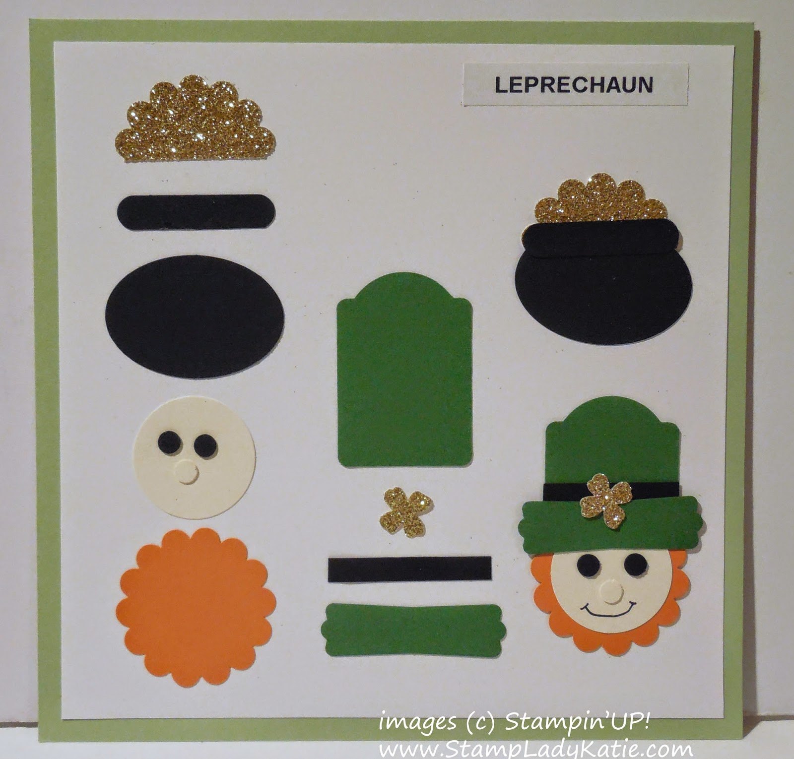 How to make the Leprechaun Punch Art