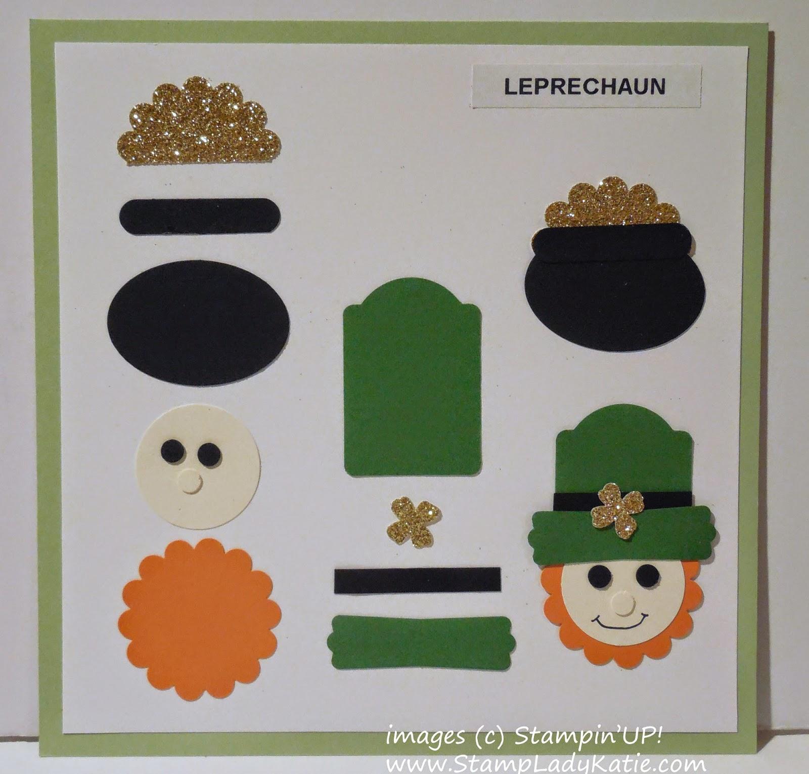 How to make the Leprechaun Punch Art