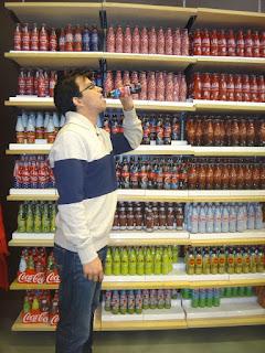 loja da coca-cola - las vegas strip