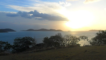 Scenery from Thursday Island, Australia
