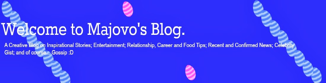 Welcome to Majovo's Blog.