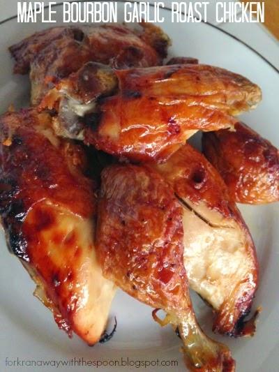 Maple Bourbon Garlic Chicken Recipe Delicious