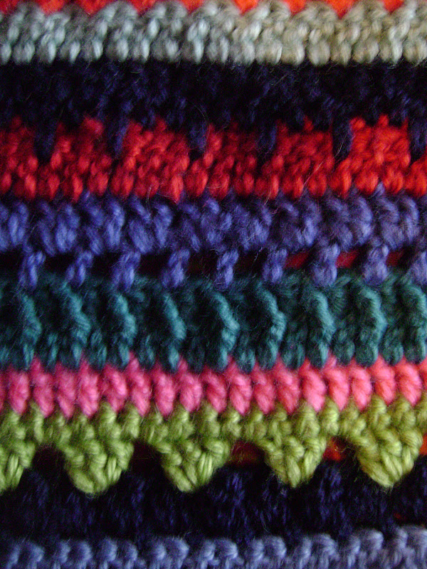 Crochet Stitches Cable : Crochet Cable Stitches (those teal ones) - Loads of fun, my favorite ...