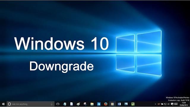 كيف تقوم بإتستعادة Windows 7 أو Windows 8.1 بعد التحديث إلى Windows 10