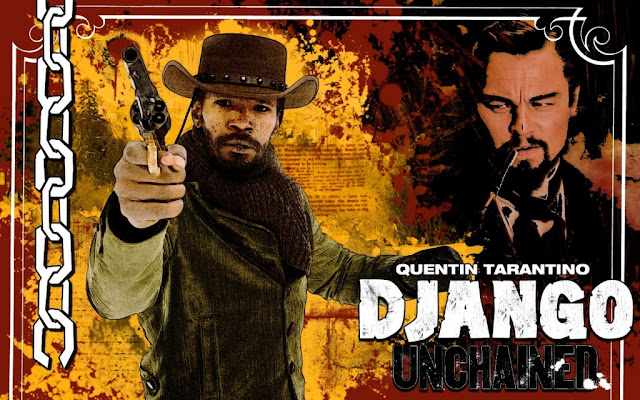Stylised Django Unchained Foxx poster