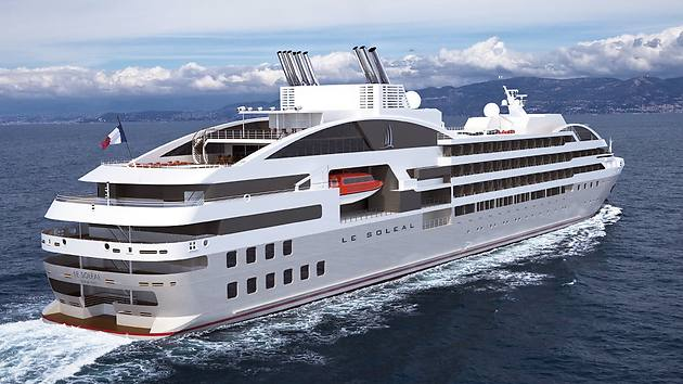 Compagnie du ponant unveils details of its new ship le lyrial for Small cruise ship lines