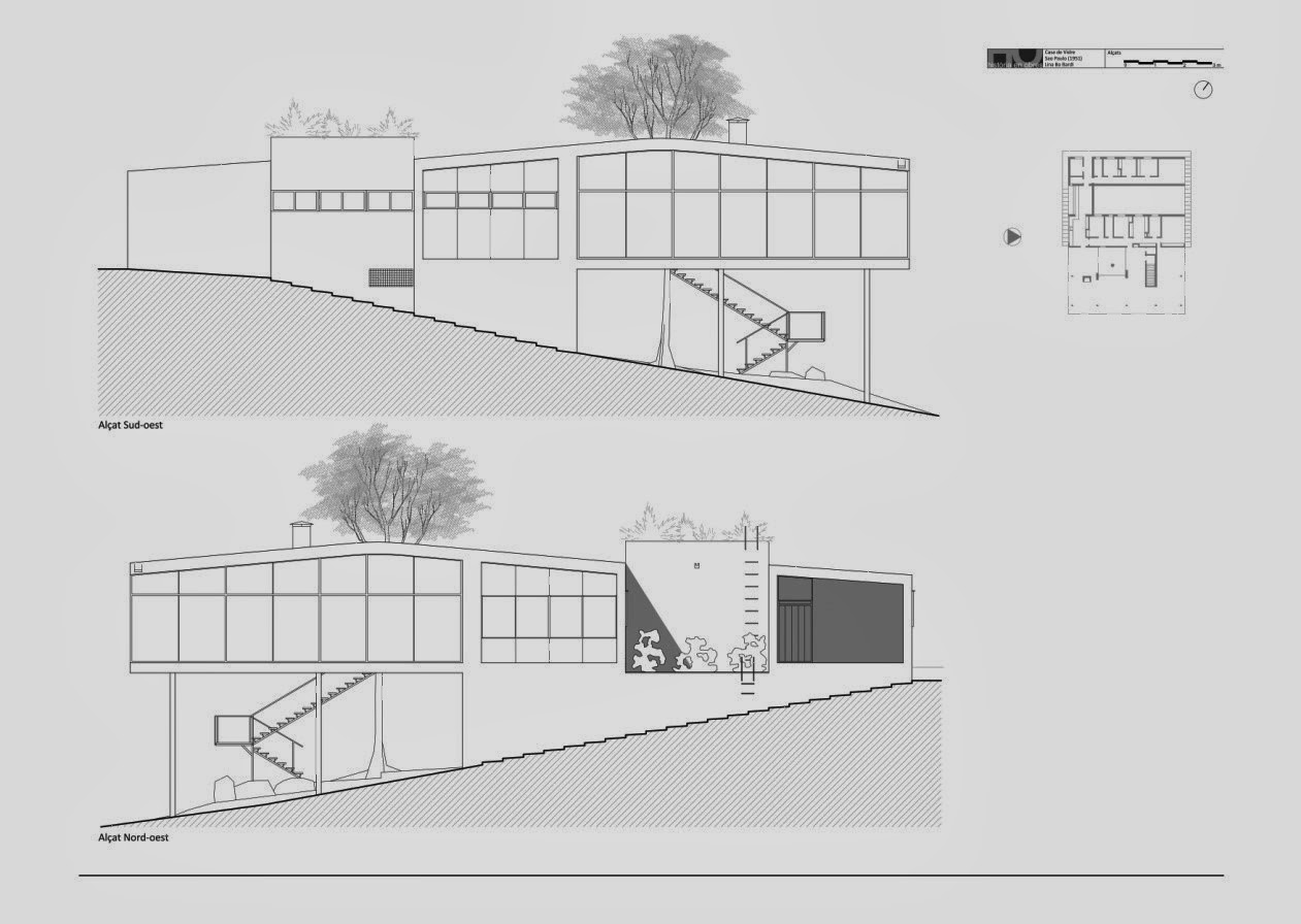 Historia de la arquitectura moderna lina bo bardi brasil for Historia de la arquitectura moderna