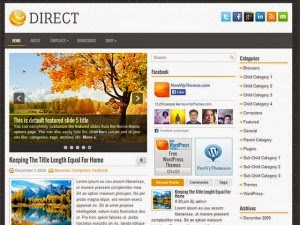 Direct - Free Wordpress Theme