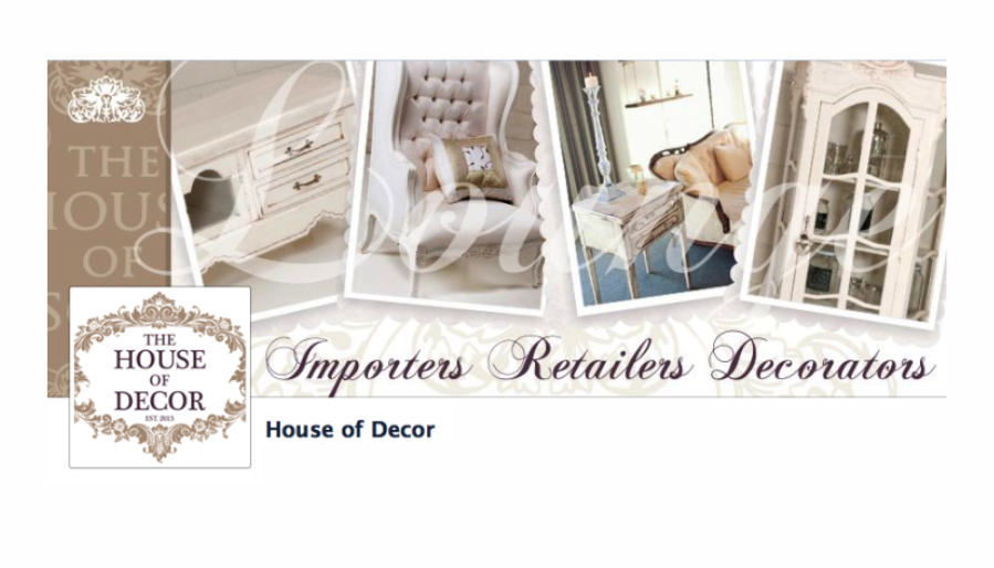 https://www.facebook.com/theHouseofDecor