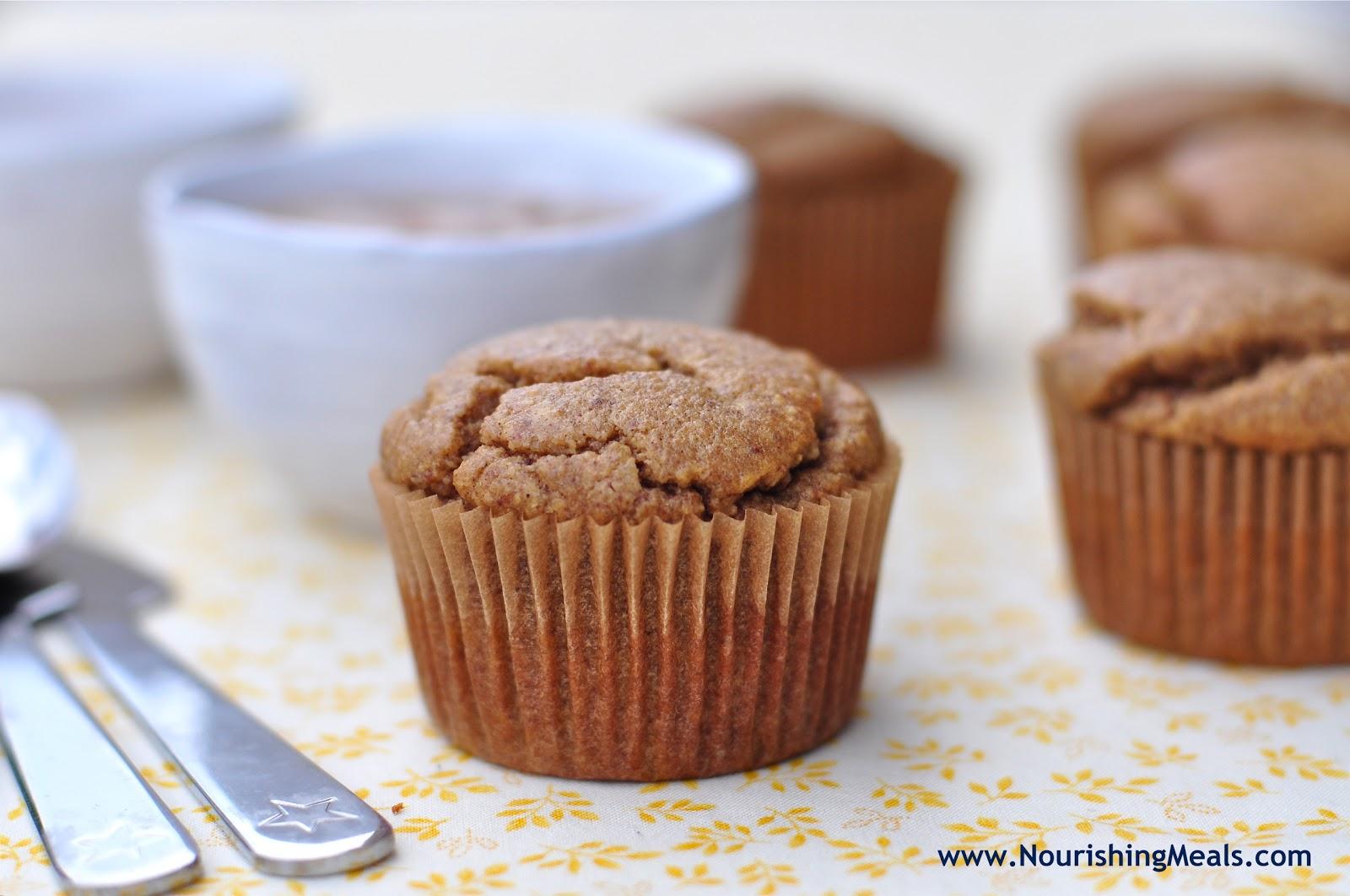 ... : Banana Almond Butter Muffins (gluten-free, grain-free, dairy-free