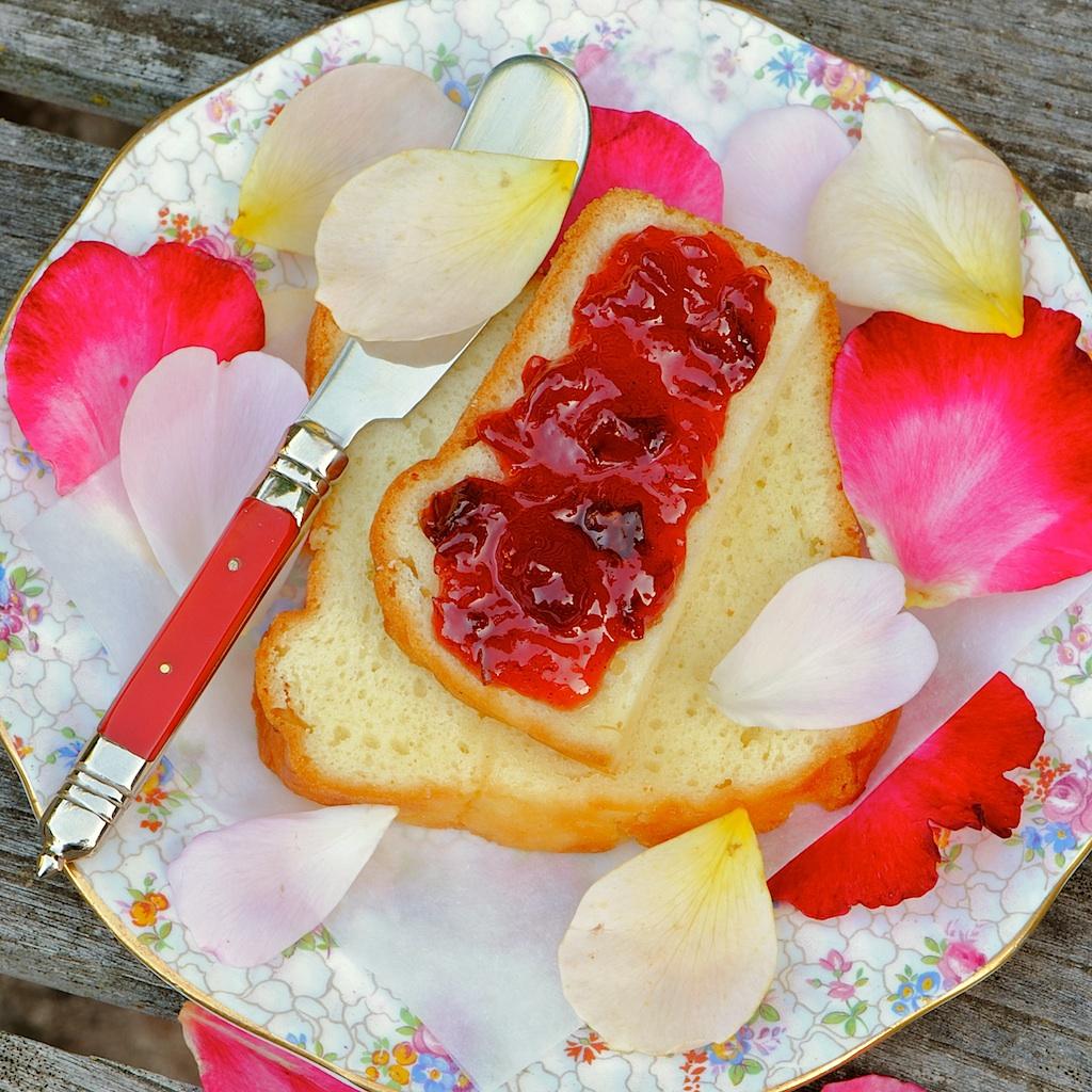 jules food rose petal plum jam. Black Bedroom Furniture Sets. Home Design Ideas